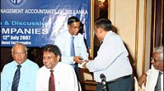 Presentation & Discussion on The New Companies ACT at Hotel Taj Samudra