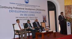 Continuing Professional Development (CPD) workshop - Development Challenges in Sri Lanka