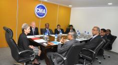 IFAC president's visit to CMA office and the meeting of members