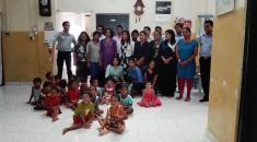 Sneha Child Orphanage Arms-giving