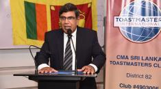 CMA Sri Lanka Final Apex Level Students Complete Workshop Series on Speech - Craft 11th batch