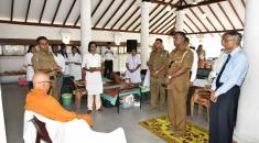 Blood donation  2018 at Siri Vajiramaya Temple
