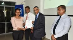Certificate Awarding Ceremony : Foundation Level Examination -  March 2019